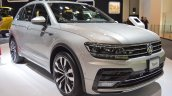 VW Tiguan R-Line front three quarters at 2017 Dubai Motor Show
