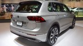 VW Tiguan R-Line rear three quarters at 2017 Dubai Motor Show