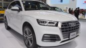 2017 Audi Q5 front three quarters at 2017 Thai Motor Expo