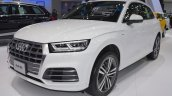 2017 Audi Q5 front three quarters left side at 2017 Thai Motor Expo