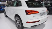 2017 Audi Q5 rear three quarters left side at 2017 Thai Motor Expo