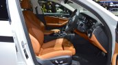 2017 BMW 5 Series with BMW M Performance accessories front seats at 2017 Thai Motor Expo