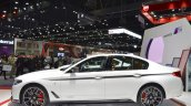 2017 BMW 5 Series with BMW M Performance accessories profile at 2017 Thai Motor Expo
