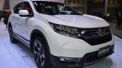 2017 Honda CR-V diesel front three quarters 2017 Thai Motor Expo