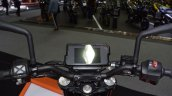 2017 KTM 390 Duke cockpit at 2017 Thai Motor Expo