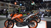 2017 KTM 390 Duke left side at 2017 Thai Motor Expo