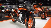2017 KTM RC 390 front right quarter at 2017 Thai Motor Expo