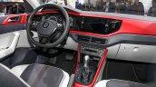 2017 VW Polo Beats interior dashboard at 2018 Taipei Motor Show