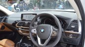 2018 BMW X3 dashboard at 2017 Thai Motor Expo