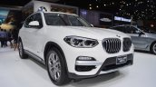2018 BMW X3 front three quarters at 2017 Thai Motor Expo