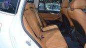 2018 BMW X3 rear seats at 2017 Thai Motor Expo