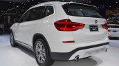 2018 BMW X3 rear three quarters at 2017 Thai Motor Expo