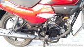 2018 Hero Super Splendor first ride review engine right side