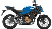 2018 Honda CB500F Blue press right side