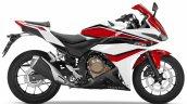 2018 Honda CBR500R White press right side