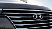 2018 Hyundai Grand Starex facelift front grille