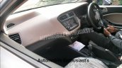 2018 Hyundai i20 facelift spied on video interior
