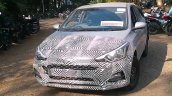 2018 Hyundai i20 facelift spied on video