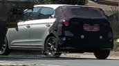 2018 Hyundai i20 facelift spy shot alloy wheel