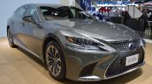 2018 Lexus LS front three quarters right side at 2017 Thai Motor Expo