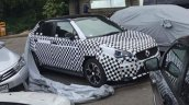 2018 MG 3 (facelift) front three quarters spy shot