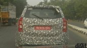 2018 Mahindra XUV500 (facelift) rear spy shot