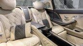2018 Mercedes-Maybach S 650 saloon rear seats