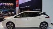 2018 Nissan Leaf left side at 2017 Thai Motor Expo