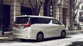 2018 Toyota Alphard (facelift) rear three quarters right side