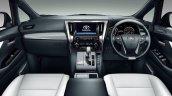 2018 Toyota Velfire (facelift) interior dashboard