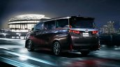 2018 Toyota Velfire (facelift) rear three quarters