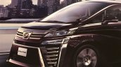 2018 Toyota Vellfire (facelift) exterior leaked image