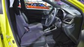 2018 Toyota Yaris (facelift) front seats at 2017 Thai Motor Expo