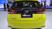2018 Toyota Yaris (facelift) rear at 2017 Thai Motor Expo