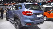 Accessorised Ford Everest rear three quarters left side at 2017 Thai Motor Expo