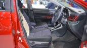 Accessorised Toyota Yaris Ativ front seats at 2017 Thai Motor Expo