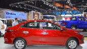 Accessorised Toyota Yaris Ativ profile at 2017 Thai Motor Expo