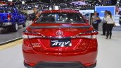 Accessorised Toyota Yaris Ativ rear at 2017 Thai Motor Expo