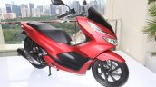 All New Honda PCX 150 Indonesia launch Red front right quarter