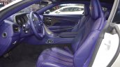 Aston Martin DB11 V8 front seats at 2017 Thai Motor Expo