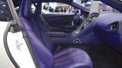 Aston Martin DB11 V8 front seats passenger side view at 2017 Thai Motor Expo