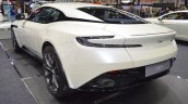 Aston Martin DB11 V8 rear three quarters left side at 2017 Thai Motor Expo