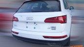 Audi Q5 L rear three quarters right side spy shot