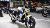 BMW G 310 R front right quarter at 2017 Thai Motor Expo