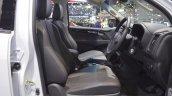 Chevrolet Colorado Centennial Edition front seats at 2017 Thai Motor Expo