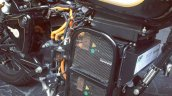 Electric Royal Enfield Classic 500 spotted motor right side