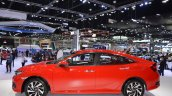 Honda Civic Red left side at 2017 Thai Motor Expo - Live
