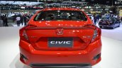 Honda Civic Red rear at 2017 Thai Motor Expo - Live