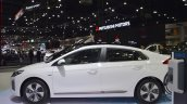 Hyundai Ioniq electric left side at 2017 Thai Motor Expo