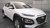 Hyundai Kona front quarter snapped in China